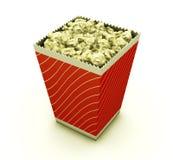 popcorn διανυσματική απεικόνιση