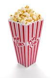 Popcorn. In a container ready to be eaten Royalty Free Stock Photos