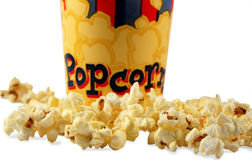popcorn obraz stock