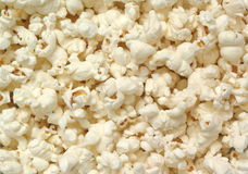 Popcorn. Many Pieces of Popped White Popcorn Royalty Free Stock Photo
