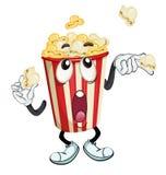 Popcorn vektor illustrationer