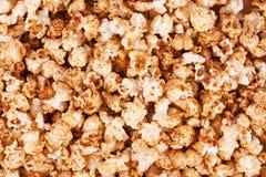 Popcorn. Background of delicious fried popcorn Stock Photo