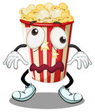 A popcorn Royalty Free Stock Image