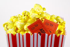 Popcorn 3 stock foto's
