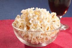 Popcorn. Fotografie Stock
