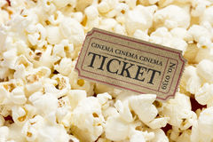 Popcorn Immagini Stock