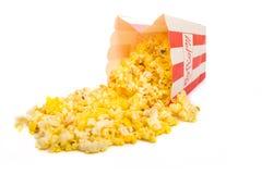 popcorn λευκό Στοκ Εικόνες