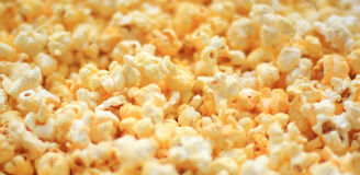 Popcorn. Close up of the popcorn for background Stock Photo