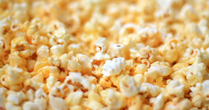 Popcorn. Close up of the popcorn Stock Images
