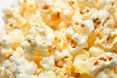 Popcorn Stockfotos