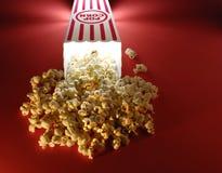 Popcorn ai film immagine stock libera da diritti