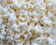 Popcorn background. Ready white popcorn close up Stock Photography
