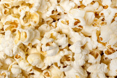 Popcorn Background Close Up Stock Image
