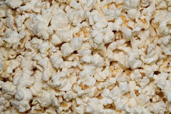 Popcorn background. Close up photo Royalty Free Stock Photo