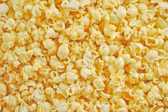 Popcorn. For background and texture Royalty Free Stock Images