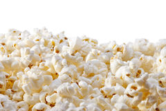 Popcorn Background. Popcorn with a white background Stock Image