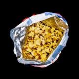 Popcorn bag Stock Image