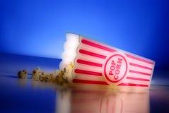 Popcorn bij de Films Royalty-vrije Stock Fotografie