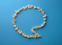 Popcorn blurb Stock Photo