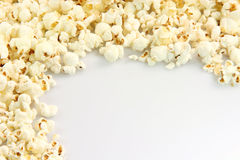 Popcorn border Royalty Free Stock Photography