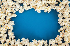 Popcorn border Royalty Free Stock Photography
