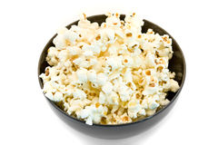 Popcorn bowl Stock Images