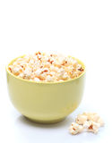 Popcorn in bowl Royalty Free Stock Photo