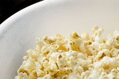Popcorn in a bowl Stock Photos