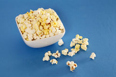 Popcorn bowl Stock Photo