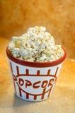 Popcorn bowl royalty free stock photo