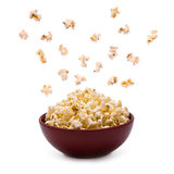 Popcorn in the Bowl Royalty Free Stock Images
