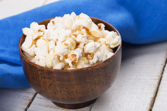 Popcorn in bowl Stock Image