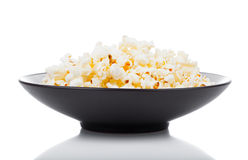 Popcorn in a bowl Stock Photo