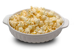 Popcorn in a bowl Royalty Free Stock Photo