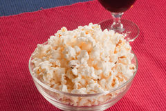 Popcorn. Stock Photos