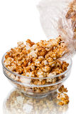 Popcorn in a bowl Royalty Free Stock Images
