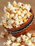 Popcorn. A bowl of sweet popcorn Stock Image