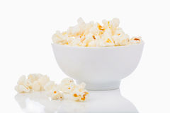 Popcorn in a bowl Royalty Free Stock Photography