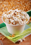 Popcorn in the bowl Stock Image