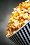 Popcorn box Stock Image