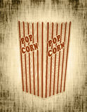 Popcorn box abstract Royalty Free Stock Photo