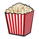 Popcorn box Royalty Free Stock Photography