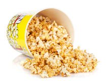 Popcorn box Royalty Free Stock Image