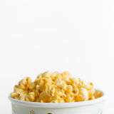 Popcorn in a box Royalty Free Stock Photo