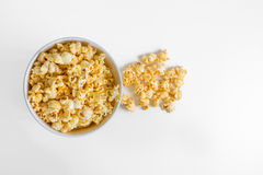 Popcorn in a box Royalty Free Stock Image