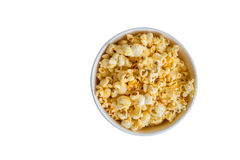 Popcorn in a box Stock Image