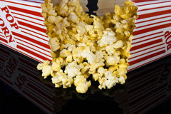 Popcorn boxes Stock Photography