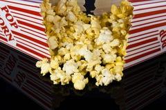 Popcorn boxes Stock Photography