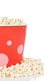 Popcorn in a bucket Royalty Free Stock Photography