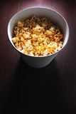 Popcorn bucket Royalty Free Stock Photography